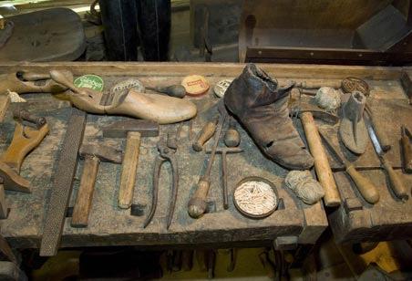Szewskie narzędzia
